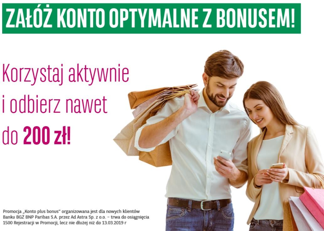 Konto plus bonus